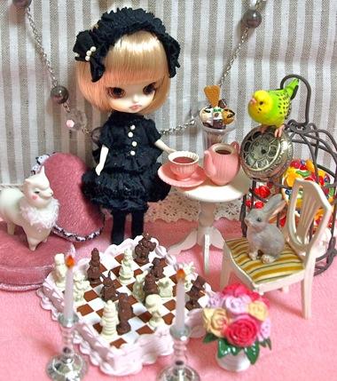 リーメントのアリスのチョコレートチェス
