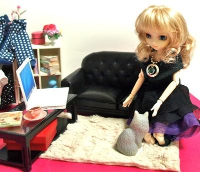 カスタムルーチェとリーメント鈴木さんちのブログ猫