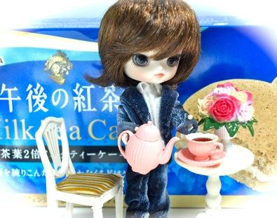 午後の紅茶 Milk Tea Cakeとリトルダル+