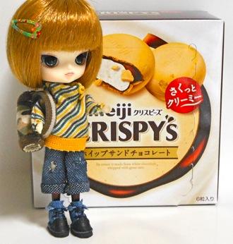 CRISPY'Sとリトルダル+Rotちゃん