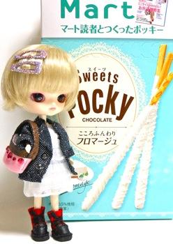 Sweets Pockyフロマージュとリトルダル+