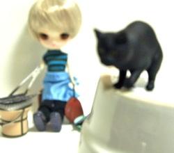タイムスリップグリコの黒猫