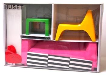 IKEA HUSETミニチュア家具(1/6スケール)