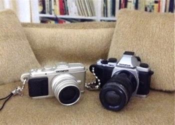 オリンパスOLYMPUSマイクロ一眼カメラ ミニチュアコレクション