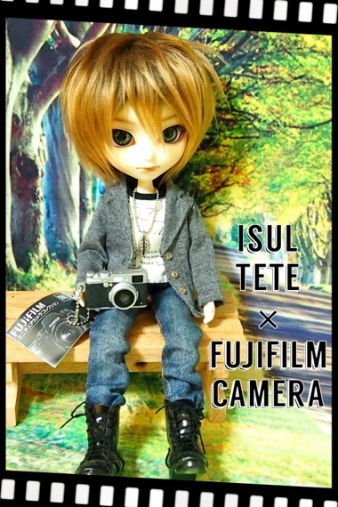 イスルのテテとFUJIFILMミニチュアカメラコレクション