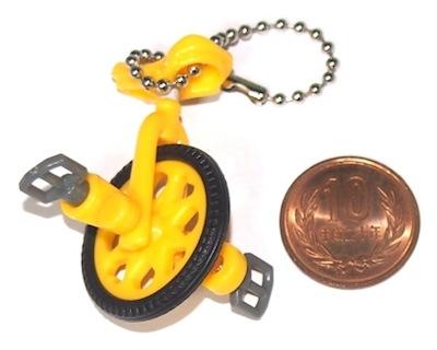 わたしの一輪車マスコット