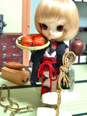 リトルダル+と羽織と着物