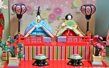 リーメントひな人形〜親王飾り