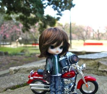 リトルダル+Georgeジョルジュとミニチュアバイク