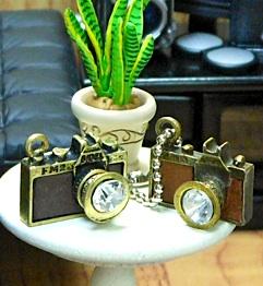 100円ショップSeriaセリアのカメラチャーム