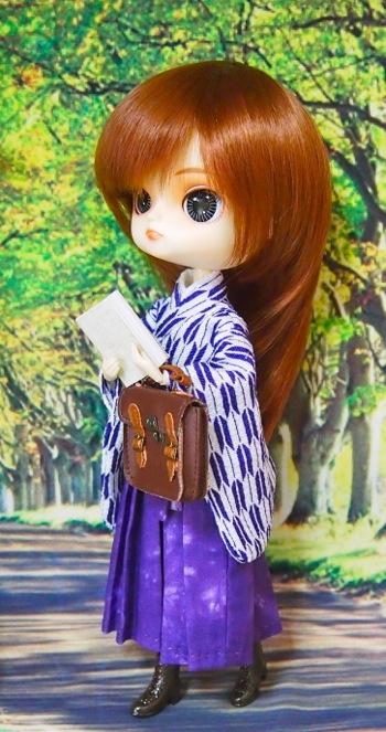 ダル ダータ(ウィッグ変更)手作り袴と着物