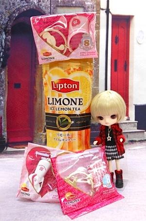 リプトン リモーネのおまけとリトルダル+