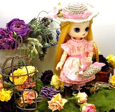 リトルダル+Pink Aliceとオビツ11ボディ