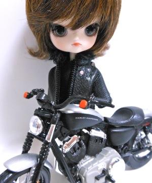 リトルダル+Georgeジョルジュとバイク
