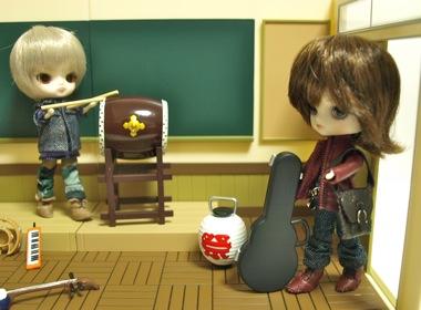 リトルダル+おんどりGeorgeジョルジュと教室