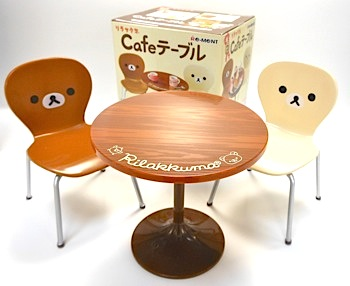 リーメント×リラックマCafeテーブル