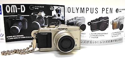 OLYMPUSマイクロ一眼カメラミニチュアコレクション