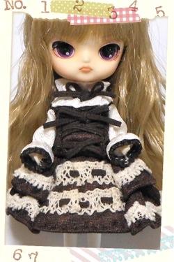リトルダル+コラルとクレール風ドレス