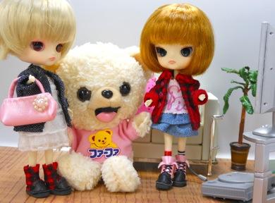 リトルダル+ジュエとファーファとロットちゃん