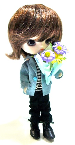 リトルダル+Georgeジョルジュと花束
