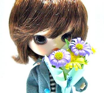 リトルダル+ジョルジュとブラキカムの花束