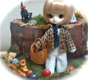 リトルダル+白兎ハロウィン写真