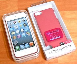 iPod touch第5世代とエレコム製ケース
