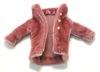 11cmドールサイズのベロアのコート