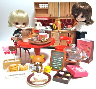 リラックマチョコレートカフェとリトルダル+