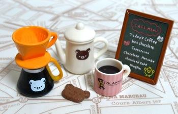 リラックマ「チョコレートカフェ」1