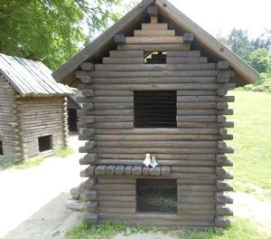 小さなログハウス