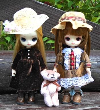 リトルダル+アリスとジュエとオビツ11手作り服