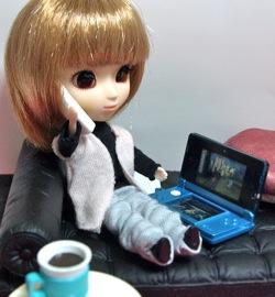 リトルプーリップ+とミニチュア3DS