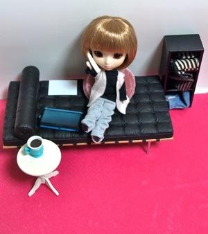 リトルプーリップ+Rovamロバンとミニチュア家具