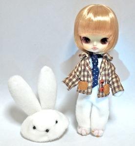 リトルダル+ White Rabbit (白兎)